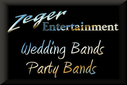 Wedding reception and party band logo